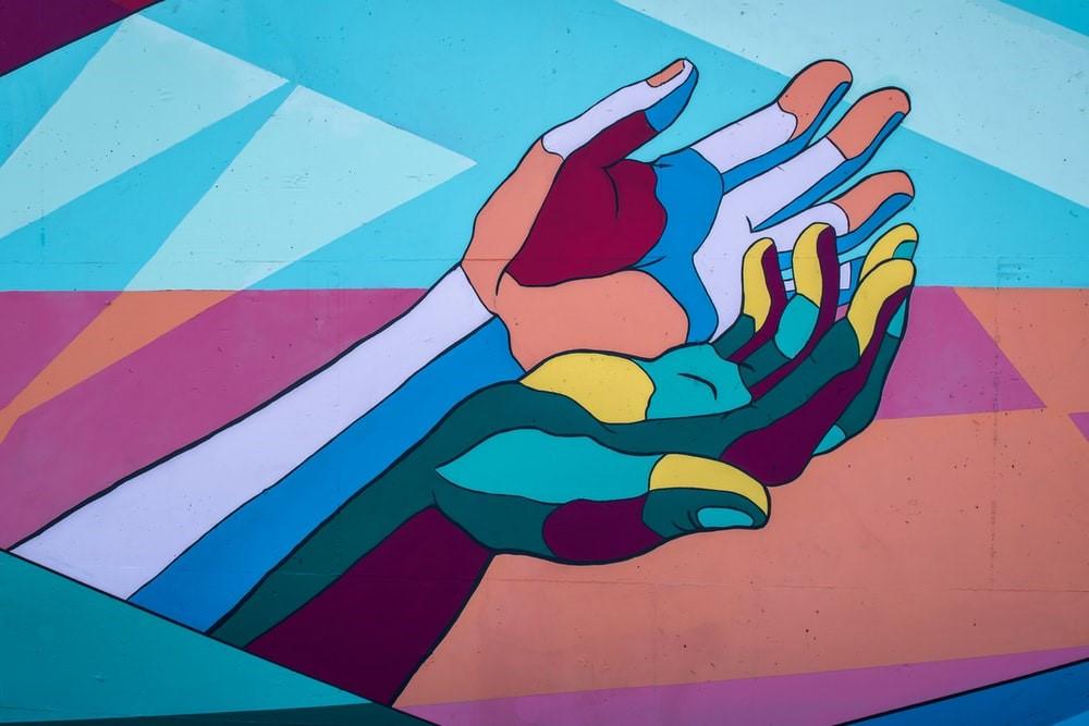 reikende handen